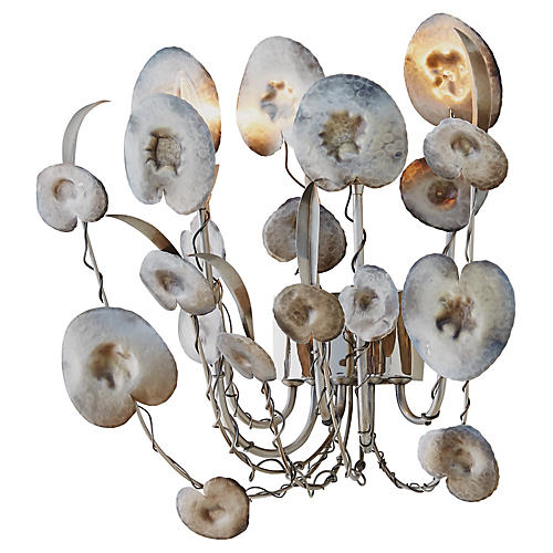 Lilium Sconce, Nickel