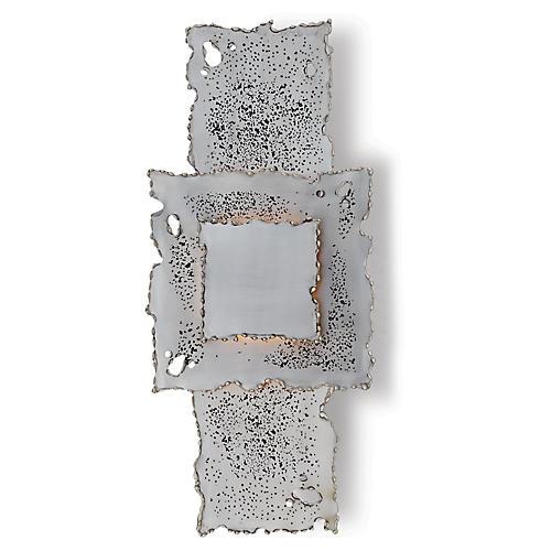 Melting Sconce, Antiqued Nickel
