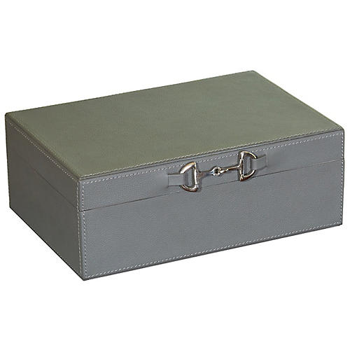 Stirrup Box, Gray