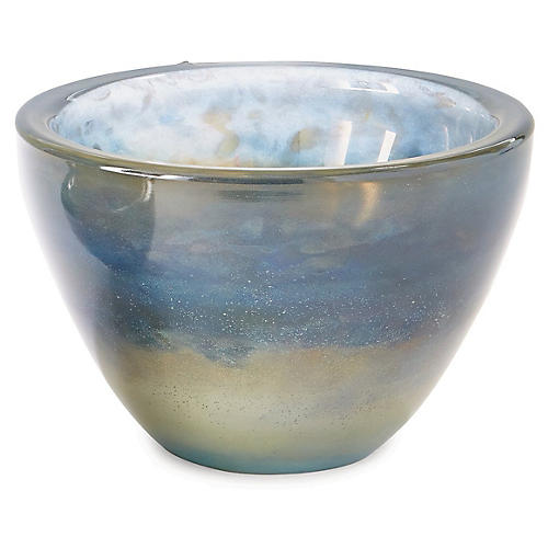 "11"" Mesa Decorative Bowl, Cloud Blue"
