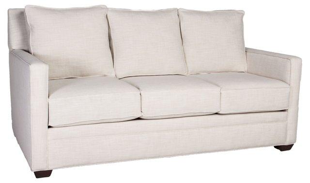 """Hayden 75"""" Sofa, Natural Linen"""