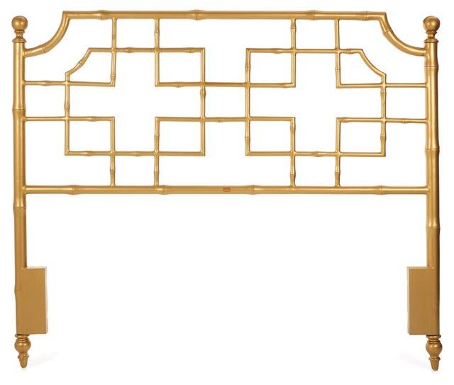 Marcella Headboard, Gold