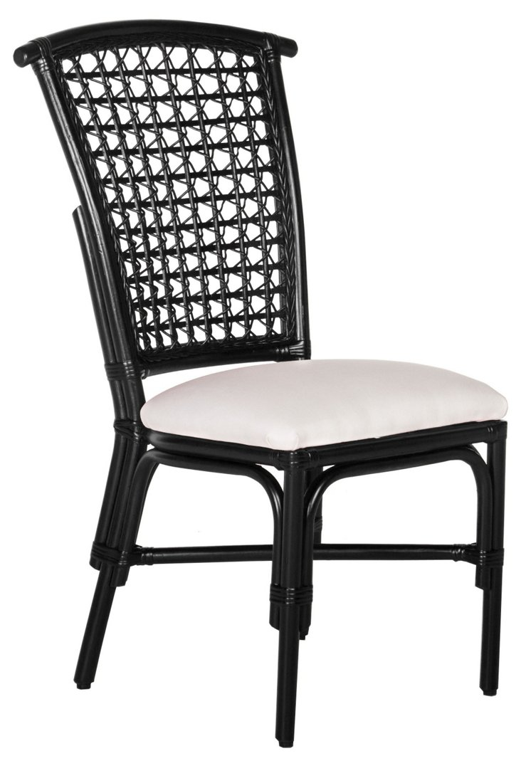 Kahula Dining Chair, Black