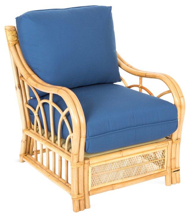 Charleston Accent Chair, Blue