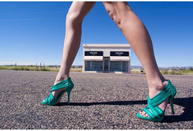 Prada Marfa, High Heels, Color