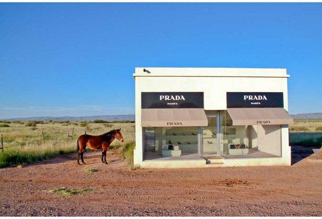 Prada Marfa with Mule, Oversize