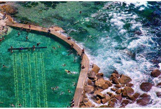 Bronte Beach Pool, Sydney