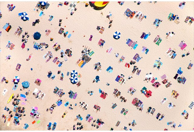 Gray Malin, Bondi Beach Horizontal