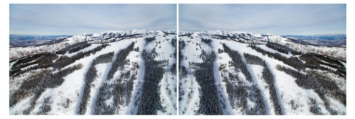 Gray Malin, Aspen Mountain Diptych