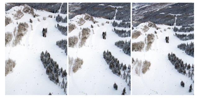 Gray Malin, Aspen Mountain Triptych