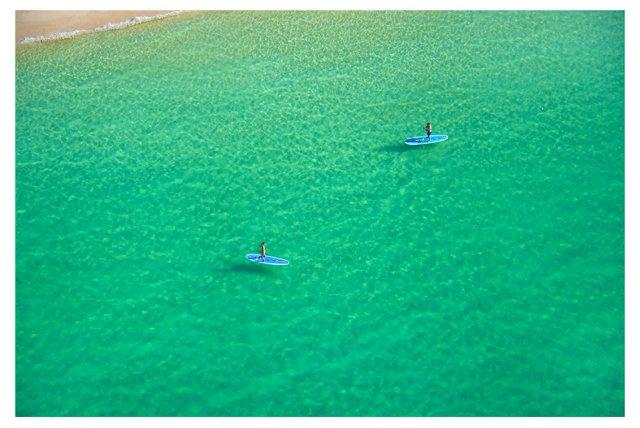 Emerald Sea Paddle Boarders Oversize