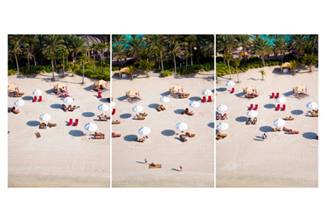 Gray Malin, Asia Beach Triptych