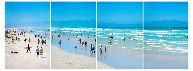 Cape Town Muizenberg Beach Quad 19x13