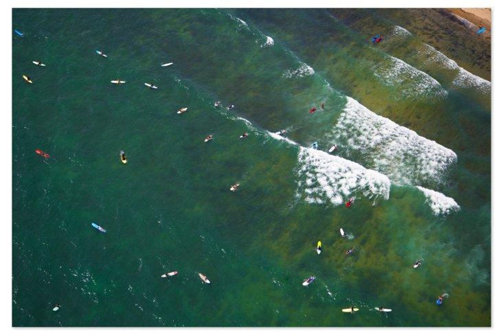 Gray Malin, Hamptons Surfers