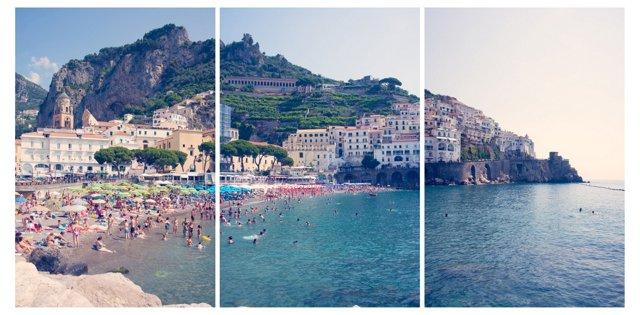 Gray Malin, Amalfi Triptych