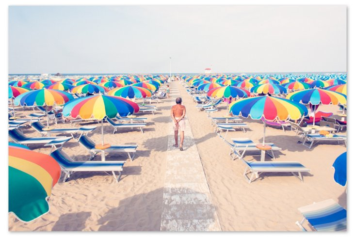 Riccione Multi-Color Umbrellas Oversize