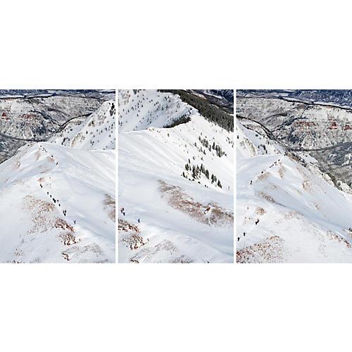 Gray Malin, Aspen Ski Climber Triptych