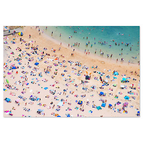 Gray Malin, Manly Beach Sunbathers