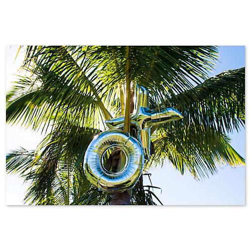 Gray Malin, XO Palm Tree Top