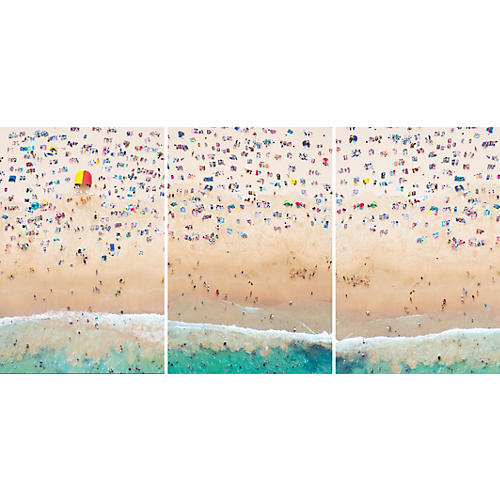 Gray Malin, Coogee Beach Triptych