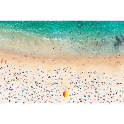 Gray Malin, Coogee Beach Horizontal 2