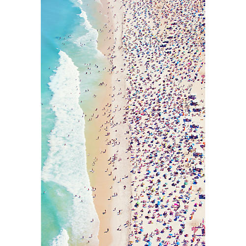 Gray Malin, Copacabana Beach Vertical