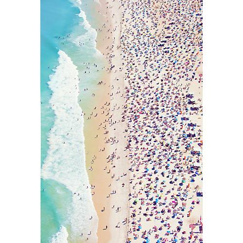 Gray Malin, Copacabana Beach Vertical