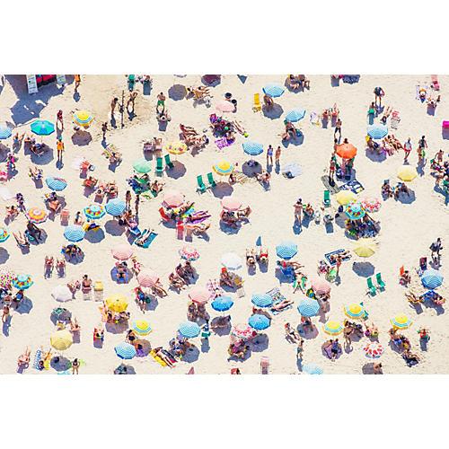 Gray Malin, Ipanema Beach Umbrellas