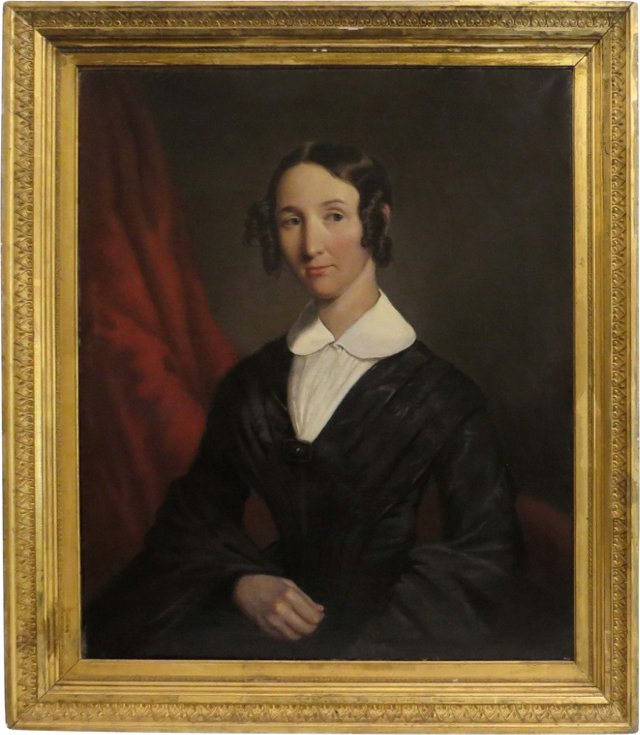 19th-C. Portrait of a Woman II