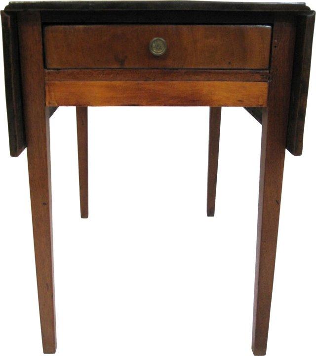 19th-C. Drop-Leaf Table
