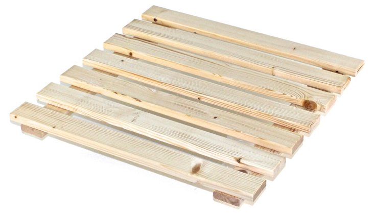 Gedy Natural Wood Platform