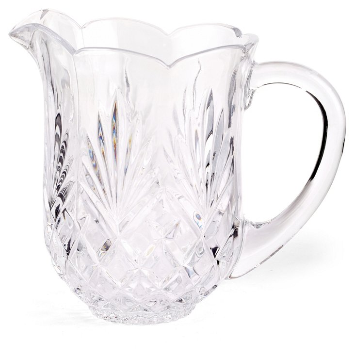 Crystal Shannon Water Pitcher