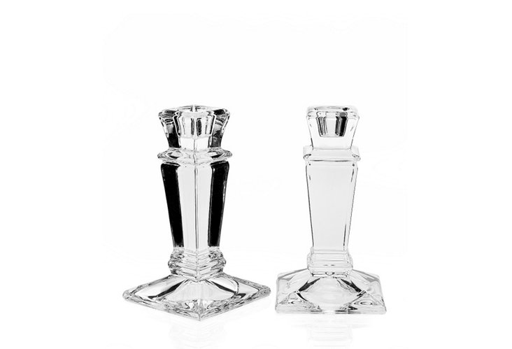 S/2 Empire Candlestick Holders