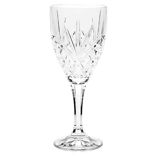 S/4 Dublin Crystal Goblets
