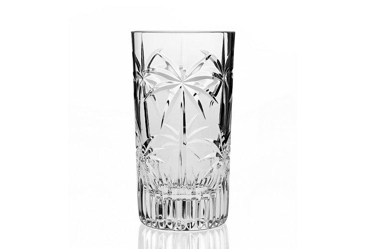 S/4 Palm Highball Glasses