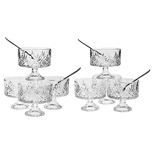 16-Pc Dublin Tasters Trifle Set