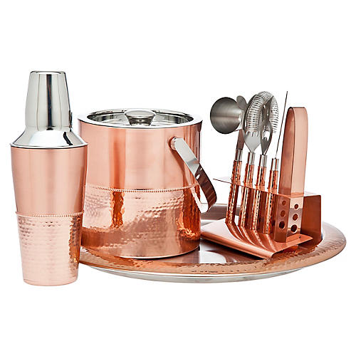 Don Bar Set, Copper