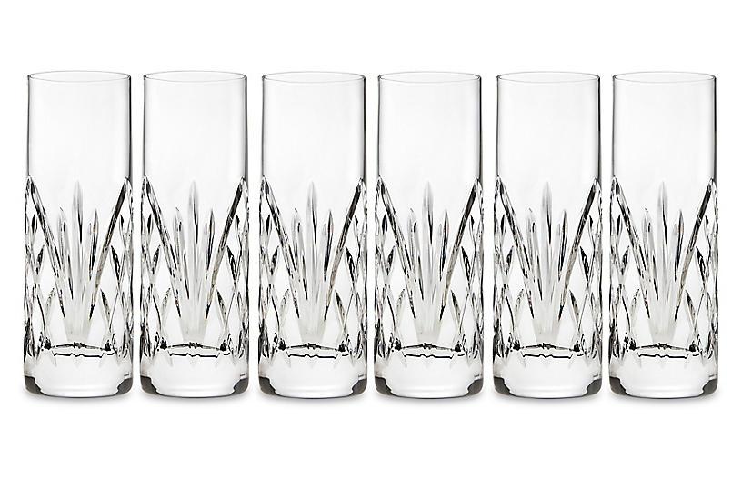 S/6 Dublin Reserve Shot Glasses, Clear