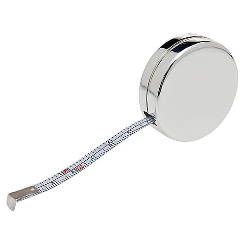 "2"" Rodeo Tape Measure, Silver"
