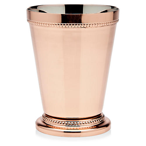 Cecilia Mint Julep Cup, Copper