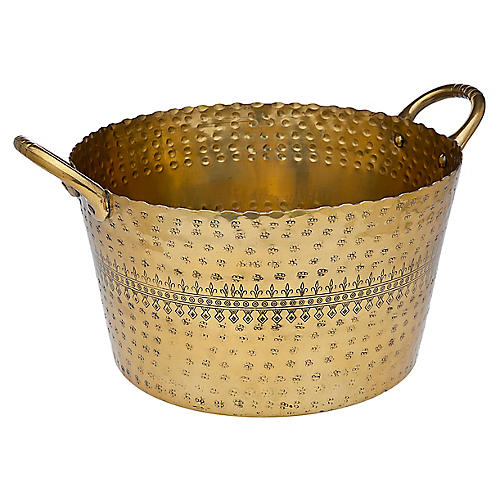 Rubi Ice Bucket, Brass