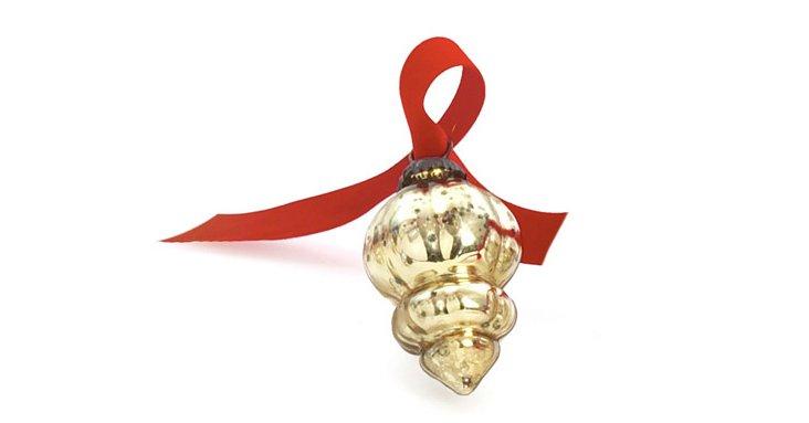 S/9 Victorian Gold Ornaments