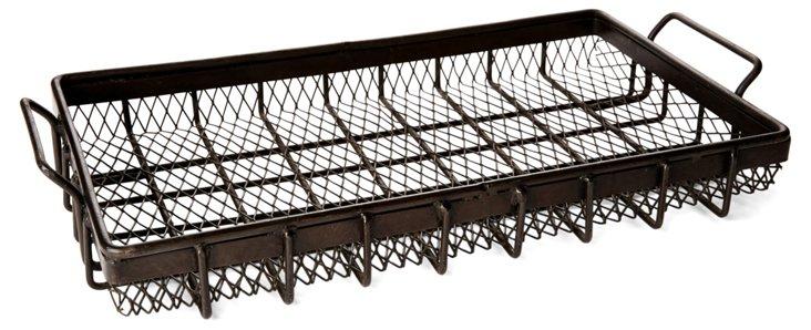 "27"" Iron Wire Tray"