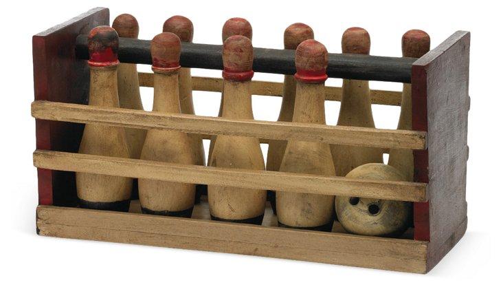 """19"""" Bowling Pins Set"""
