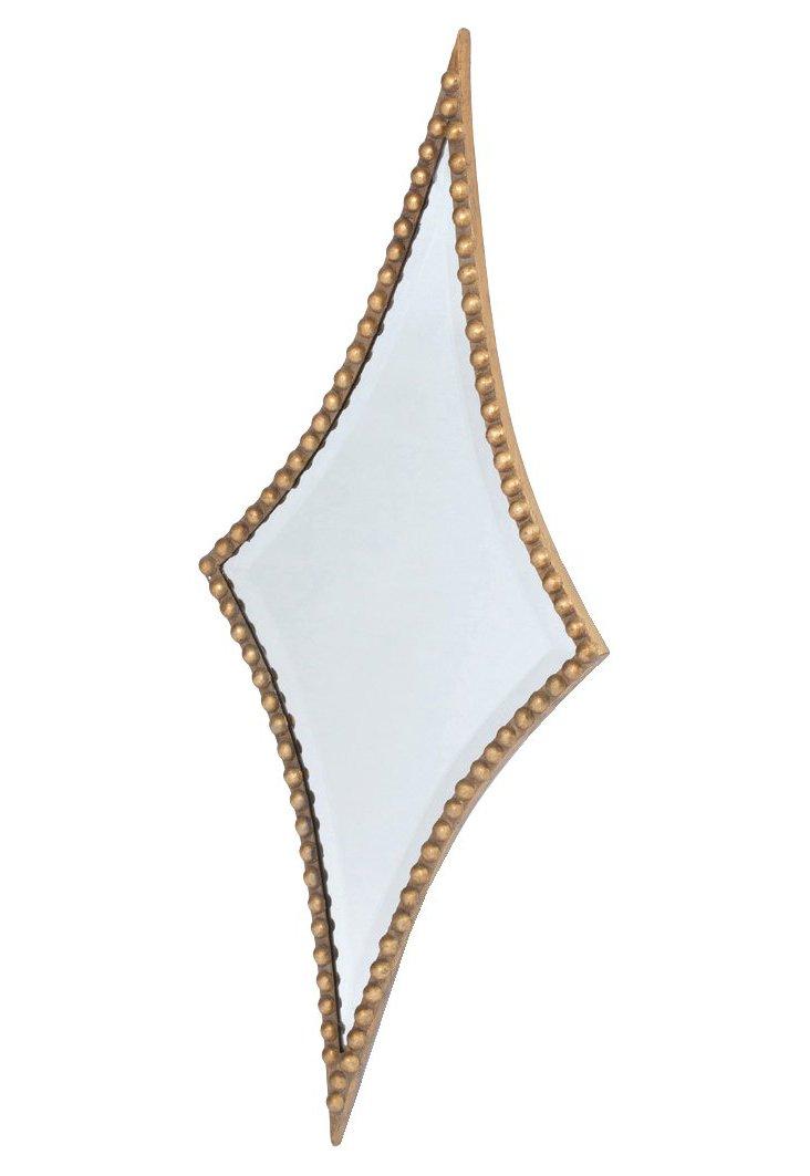 Raha Wall Mirror, Gold