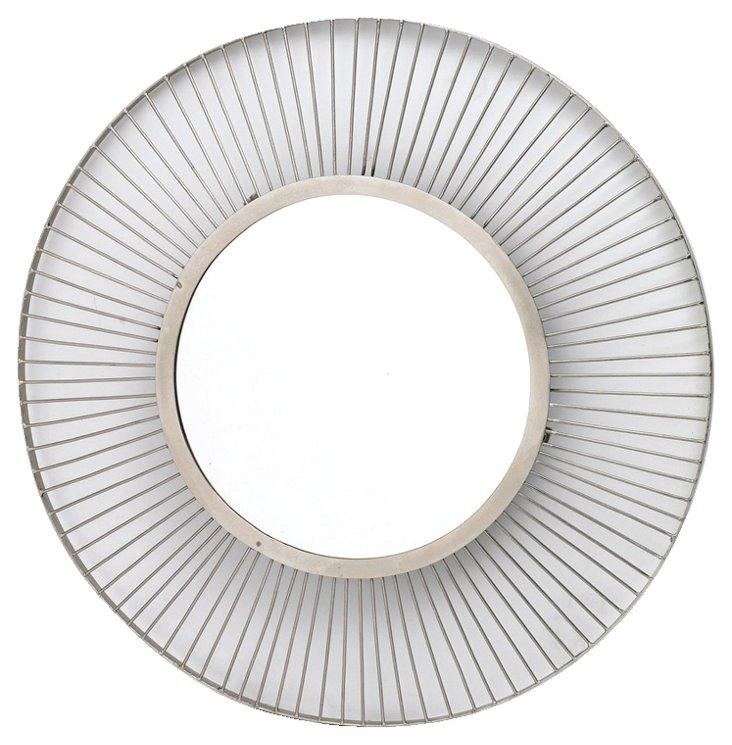 Cayla Wall Mirror, Silver