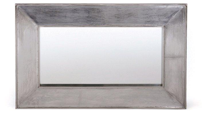 Blake Oversize Mirror, Silver