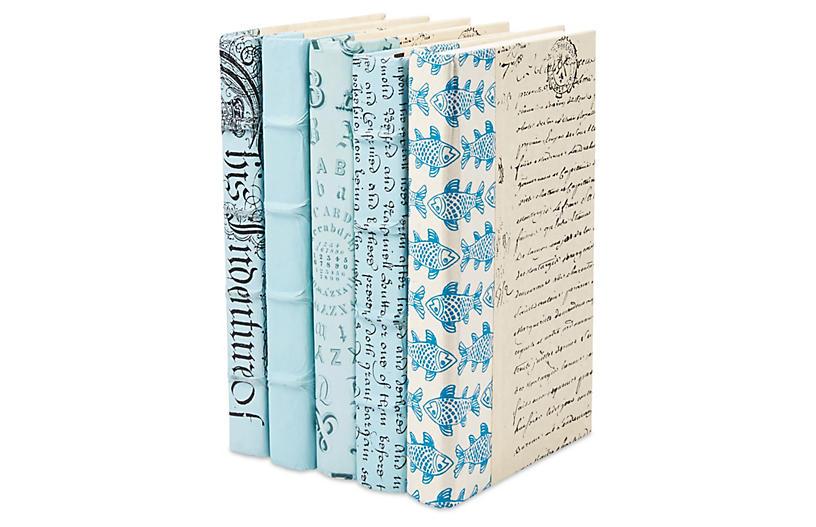 S/5 Designer Books, Light Blue
