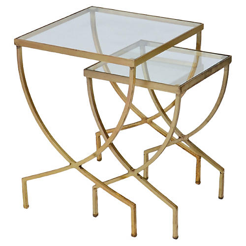 Hailey Nesting Tables, Set of 2