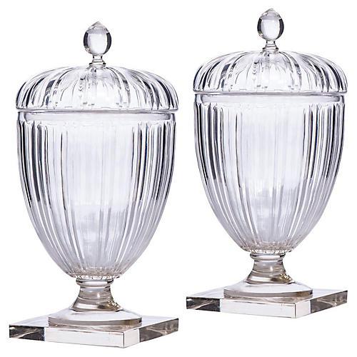 S/2 Franz Ripple Jars